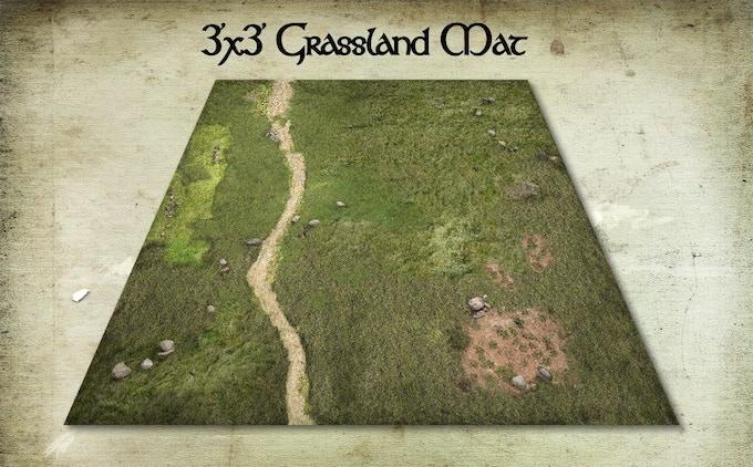 GRASSLANDS GAME MAT