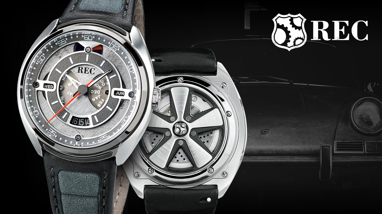 An Automatic Watch Collection Made From & Inspired By More Than Half a Century of the Legendary Porsche 911!
