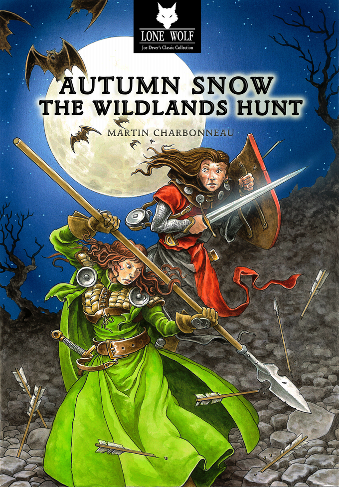 Cover piece by Gary Chalk for Autumn Snow 2