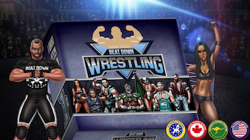 Beat Down Wrestling - The Pro Wrestling Board Game