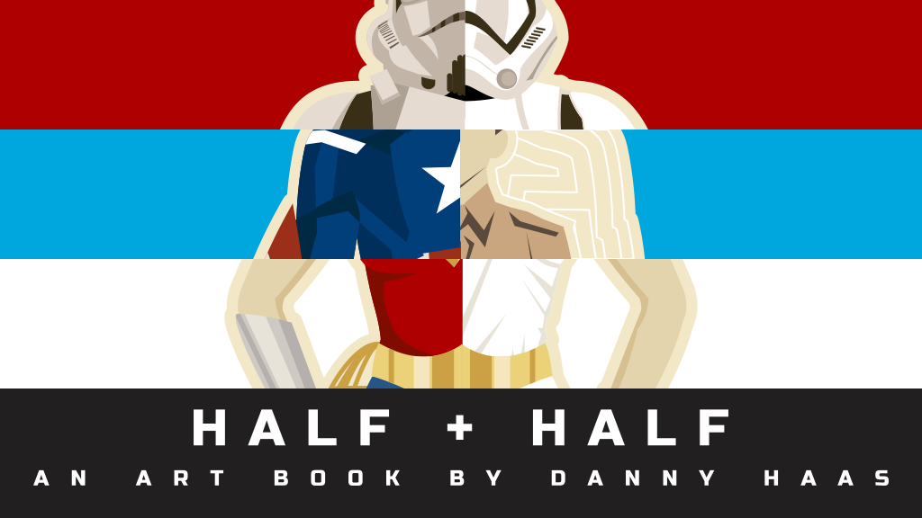 Half + Half - An Art Book by Danny Haas project video thumbnail