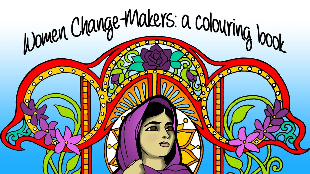 Women Change-Makers: a colouring book project video thumbnail