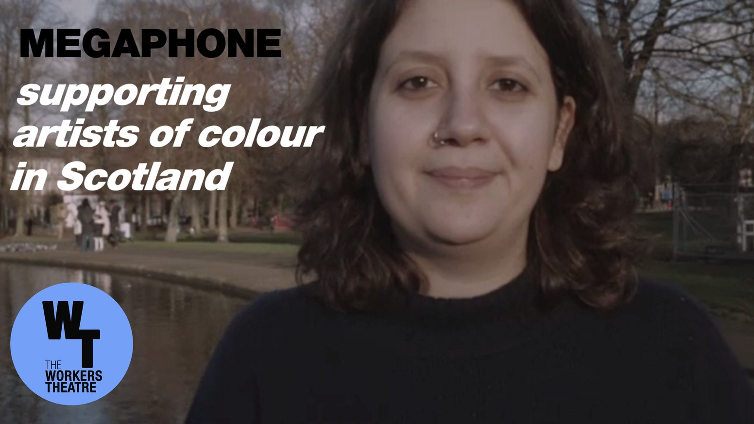 Providing three artists of colour in Scotland a chance to develop their work and have their voices heard loud and clear