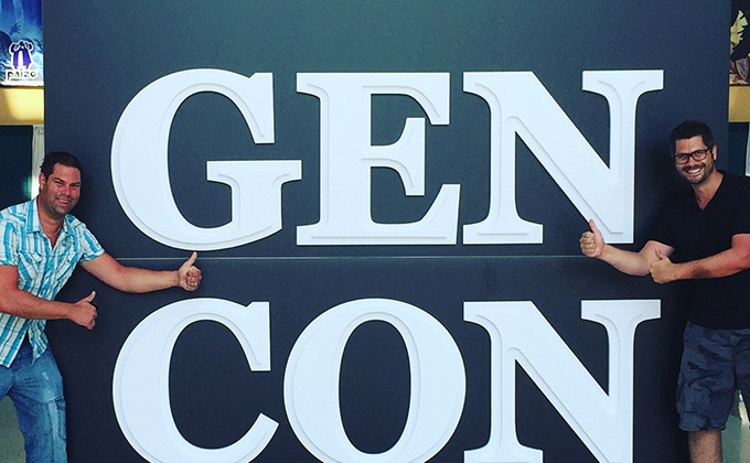 Rick & Rick at Gen Con (Indianapolis).