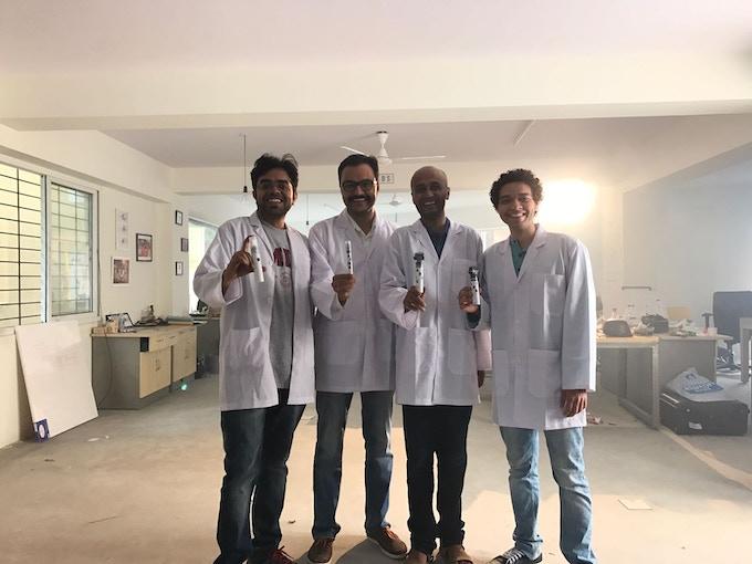 Anirudh, Nikhil, Nisheeth, Nitesh