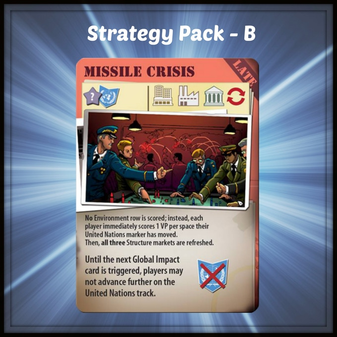 An event card for the Manhattan Project: Energy Empire by Minion Games.