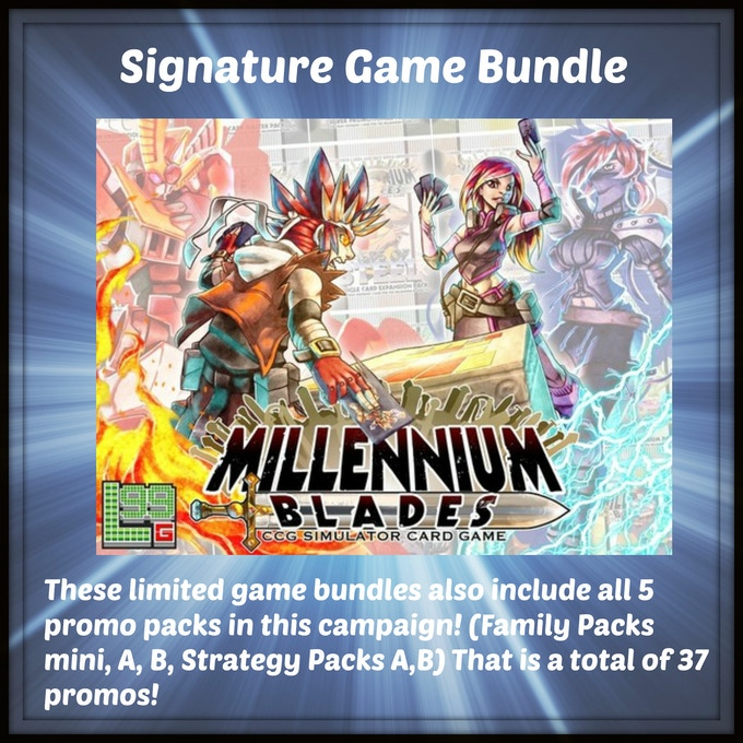 One signed copy of Millennium Blades from Level 99 Games by designer Brad Talton!
