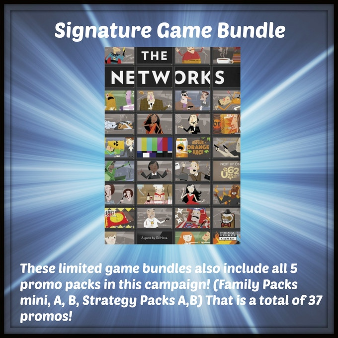 One signed copy of The Networks from Formal Ferret Games by designer Gil Hova!