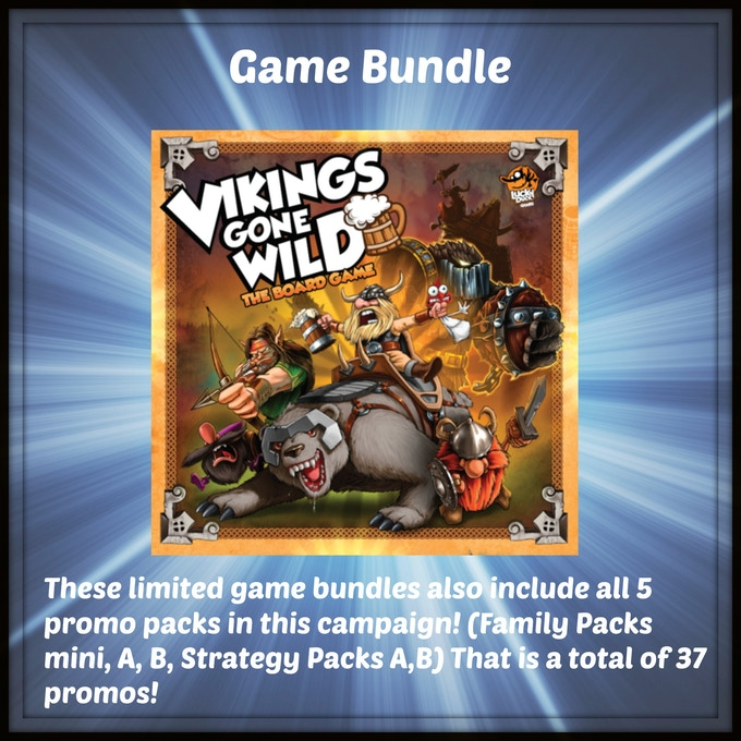 One copy of the retail version of Vikings Gone Wild by Lucky Duck Games