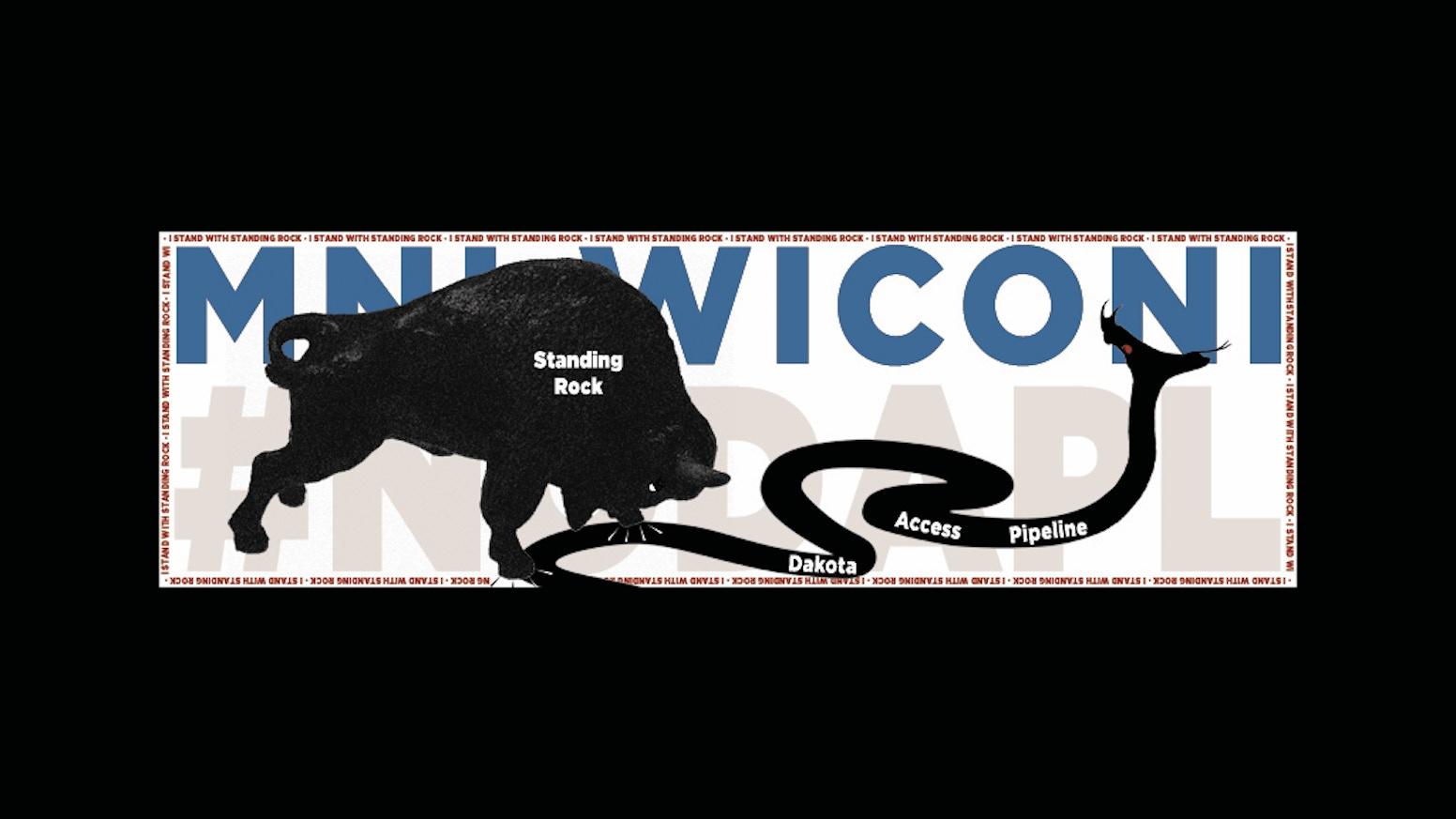 Bumper sticker creator canada - Mni Wiconi Nodapl Bumper Sticker