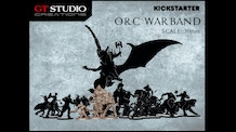 Orc Warband 30mm Miniatures by GT Studio Creations