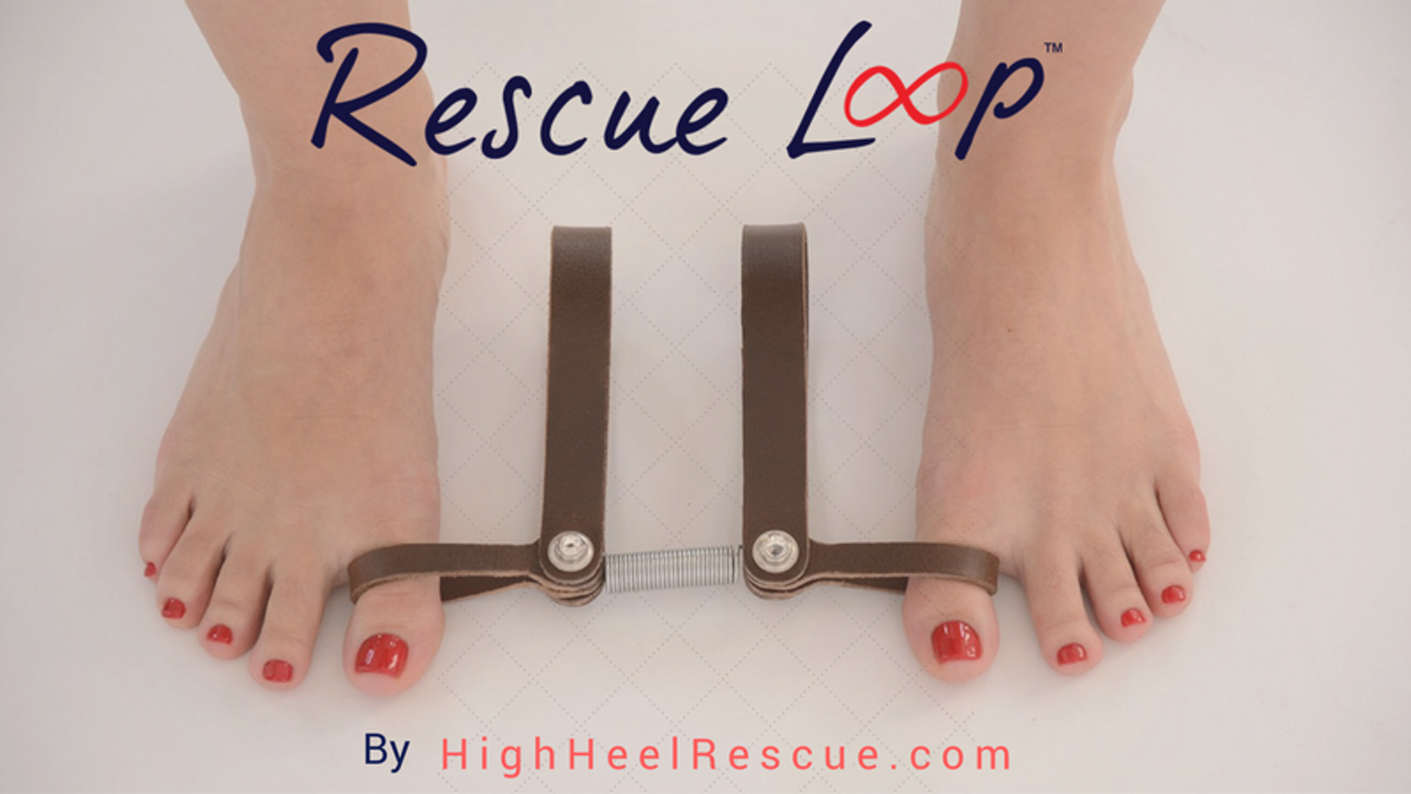 Give your feet a chance! Use Rescue LOOP for 20 minutes a week to reenergize your feet.