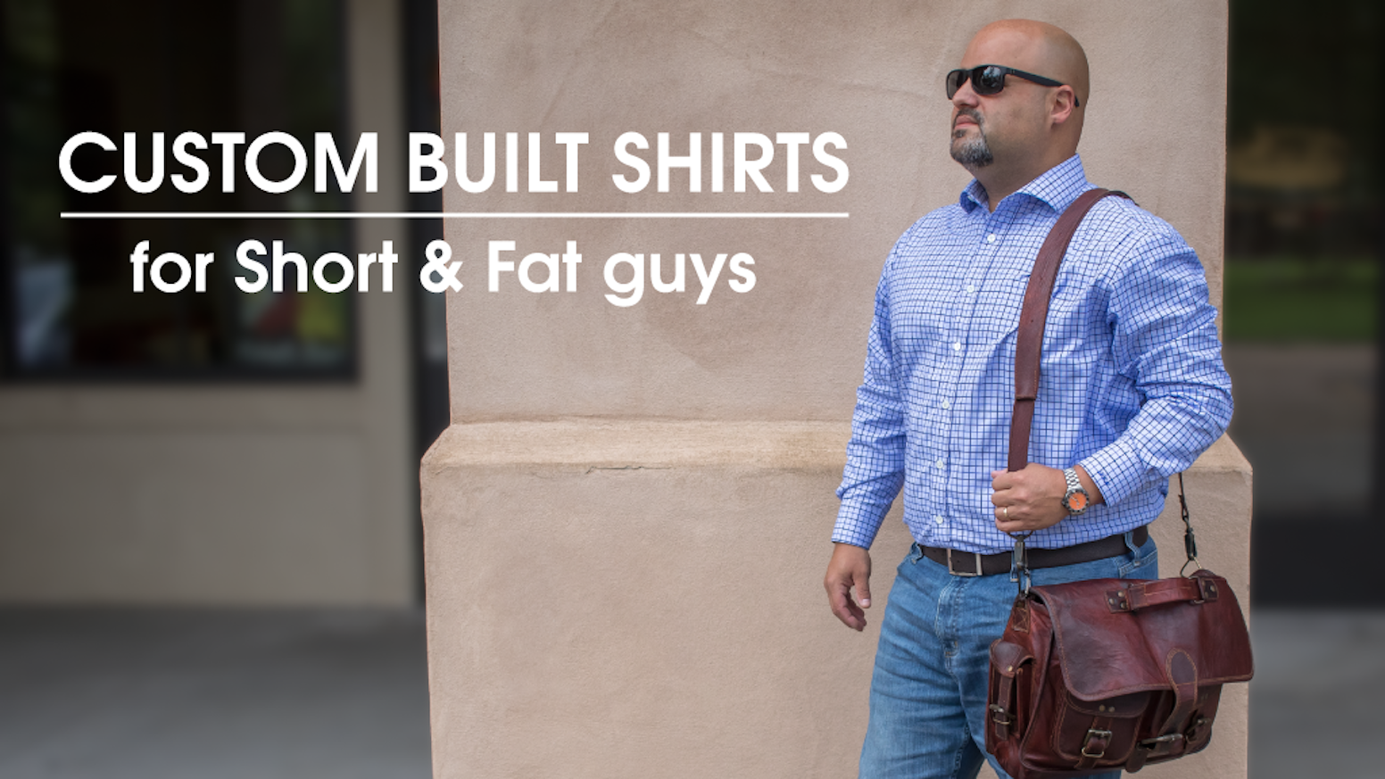 38720fb4b Custom Built Shirts for the Vertically Challenged and Horizontally Blessed.