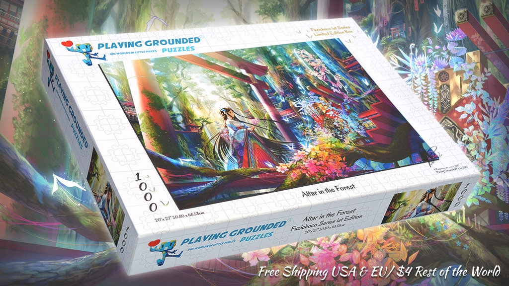 Limited-Edition Puzzles: Anime Illustration by Fuzichoco project video thumbnail