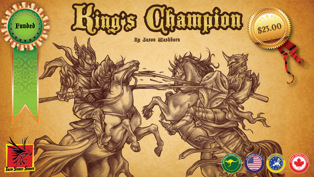 King's Champion project video thumbnail