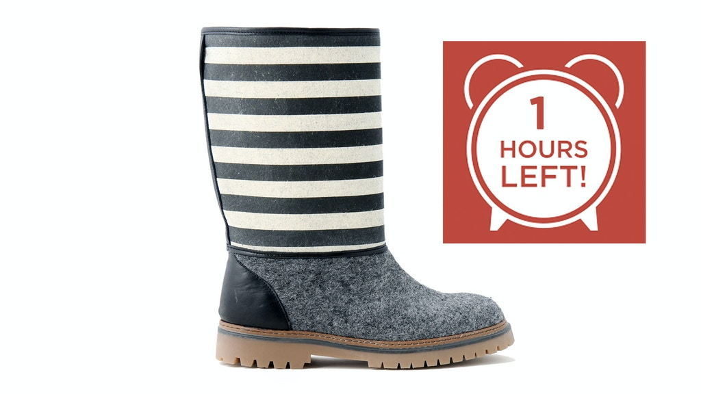 THE UNISEX WOOL BOOT Project-Video-Thumbnail