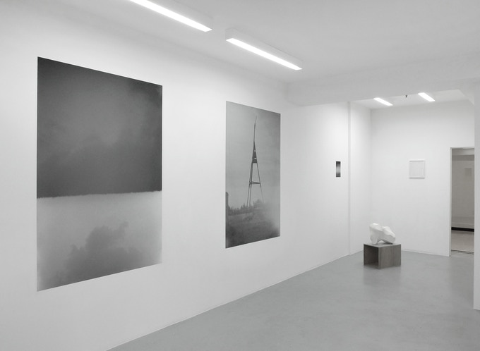 Vue d'installation : Terra Incognita - Gallery O.M.S Pradhan Bruxelles