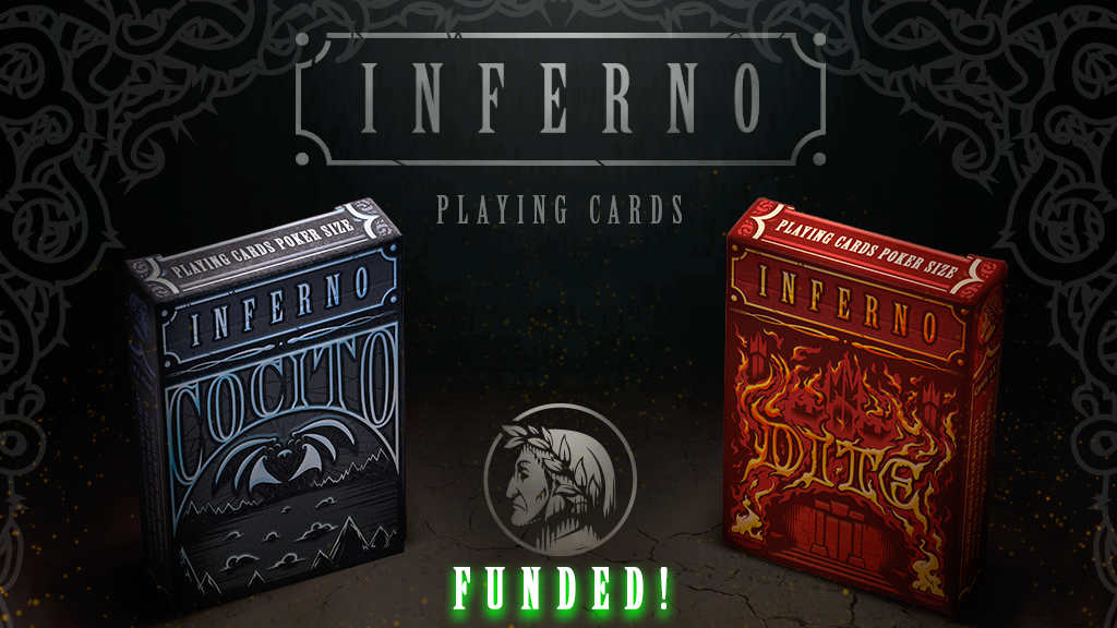 Dante Alighieri's Inferno - Poker Playing Cards project video thumbnail
