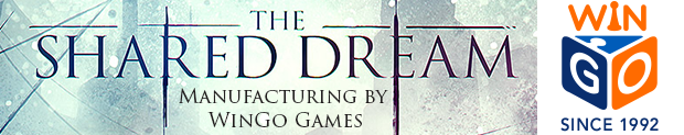 The Shared Dream will be manufactured by WinGo Games