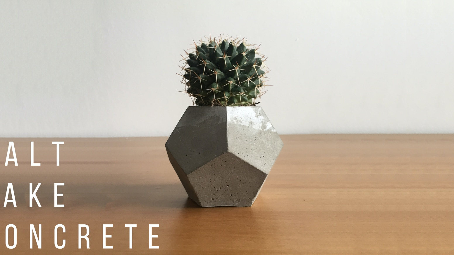 Help support the creation of beautiful concrete planters that bring harmony  between industrial and natural style