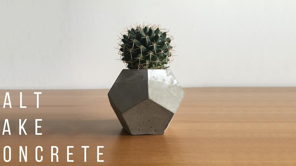Geometric Planters from Salt Lake Concrete project video thumbnail