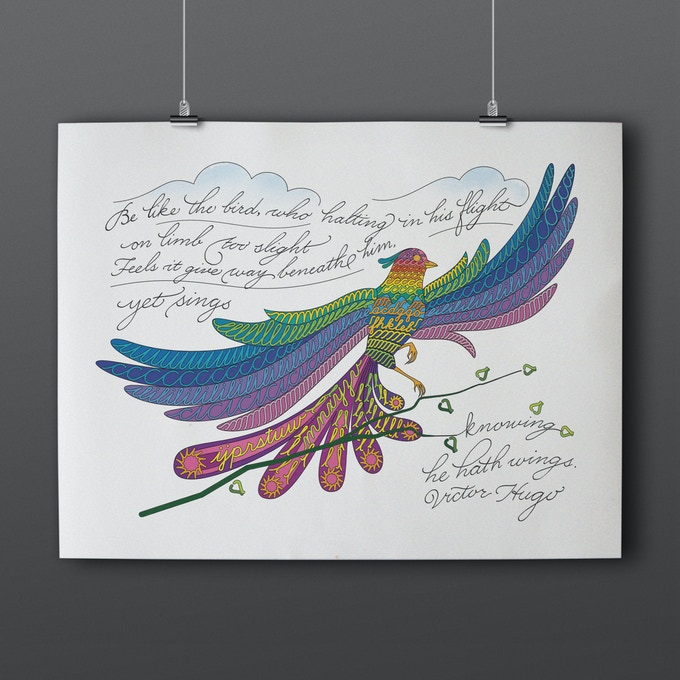 Be like the bird...