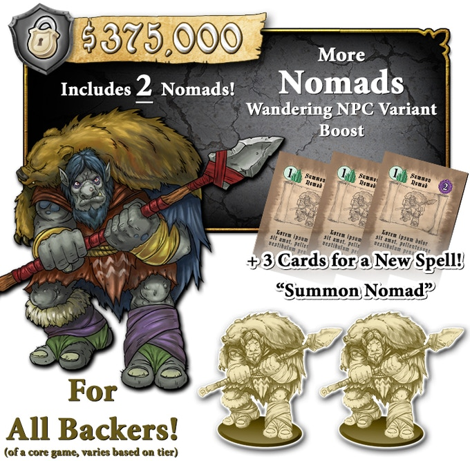 Must be backing at a CORE game level. Deluxe CORE Backers and CORE Backers will receive unpainted minis. STANDEE CORE Backers will receive STANDEES.