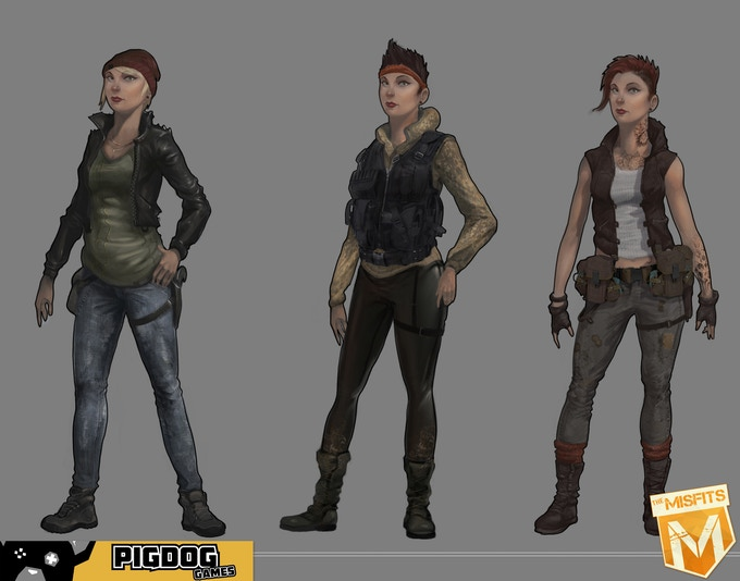 Light Character Skin Concepts