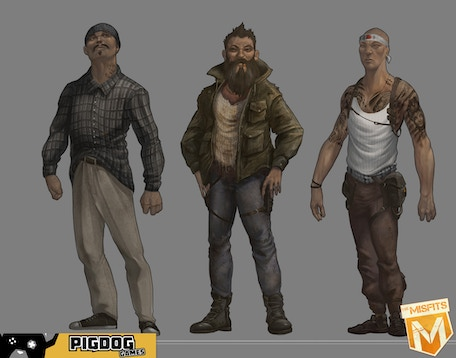 Mid Character Concepts
