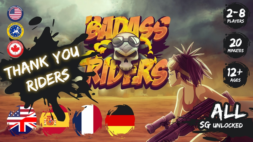 Badass Riders project video thumbnail