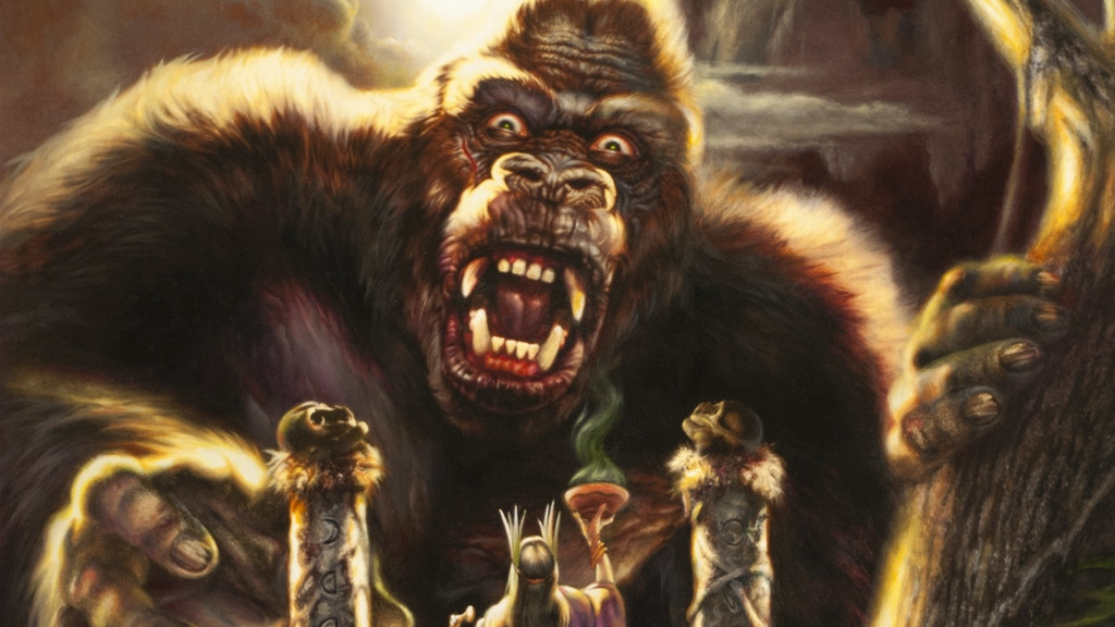 King Kong of Skull Island project video thumbnail