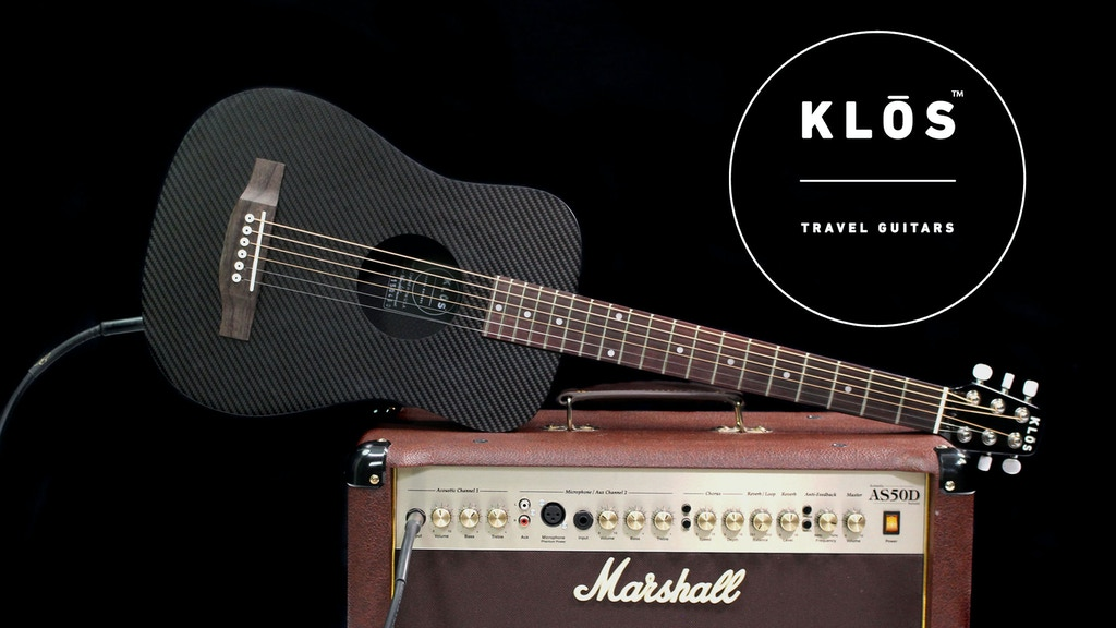 Carbon Fiber Acoustic Electric Guitars | KLOS Guitars project video thumbnail