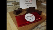 chocoLIT ~Chocolate Bars with Caffeine & L-Theanine ~