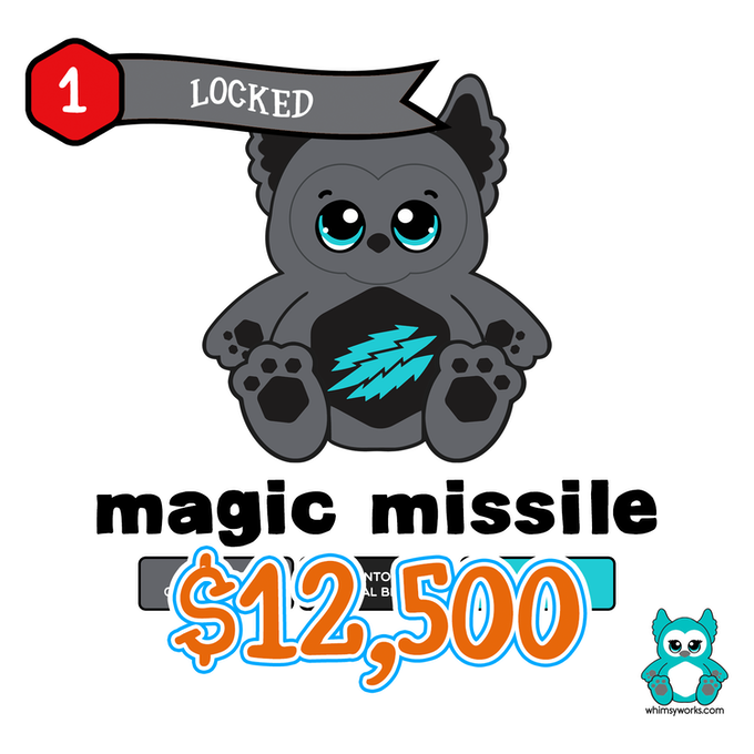 $12.5k Stretch Goal - Magic Missile