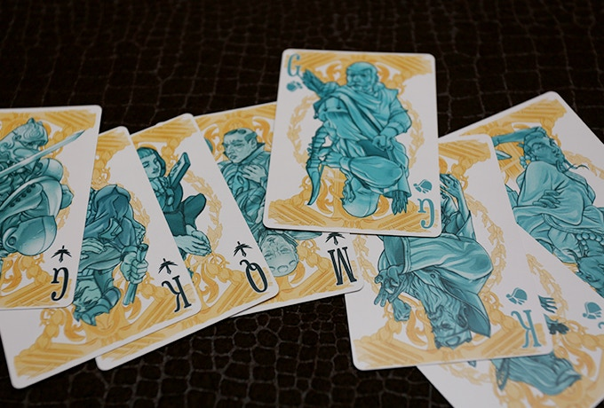 the kingdom cards from the good deck