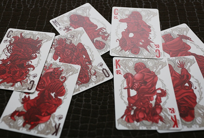 the kingdom cards from the evil deck