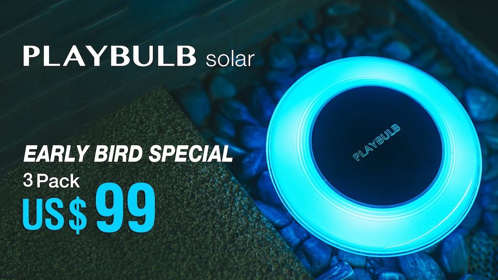 PLAYBULB Solar - Revolutionizing Outdoor Lighting project video thumbnail