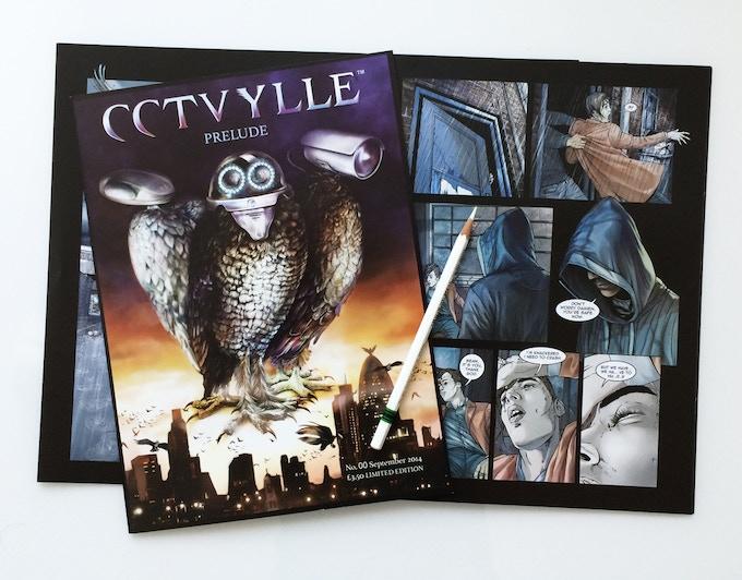 CCTVYLLE Comics Issue #00