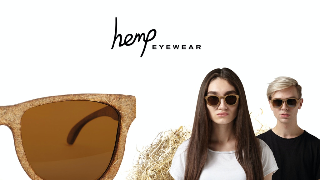 Premium sun and optical eyewear, handcrafted from hemp project video thumbnail