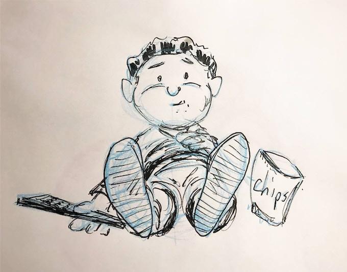Diabetic Joe: Sketch