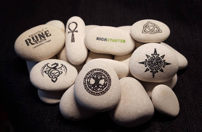 Special selection of stones for Kickstarter