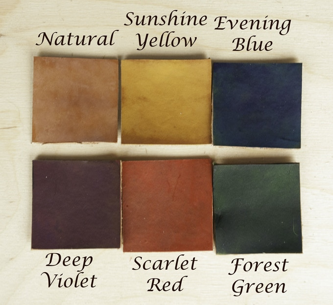 Leather is a natural product, colors may vary