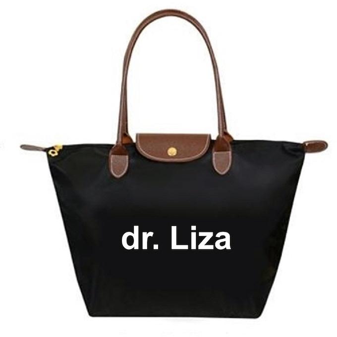 Le dr. Liza tote
