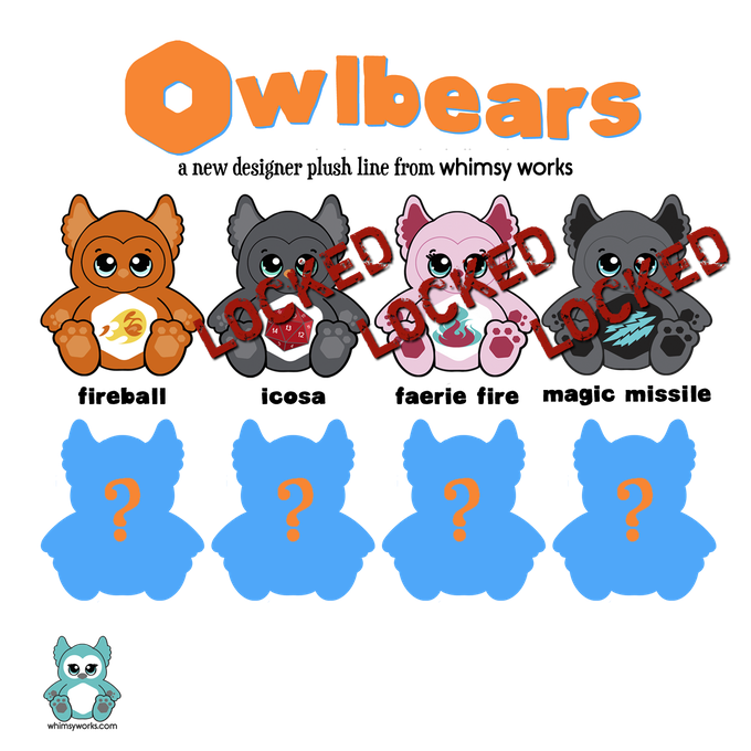 Owlbears Plush Series 1 - Potential Line-Up