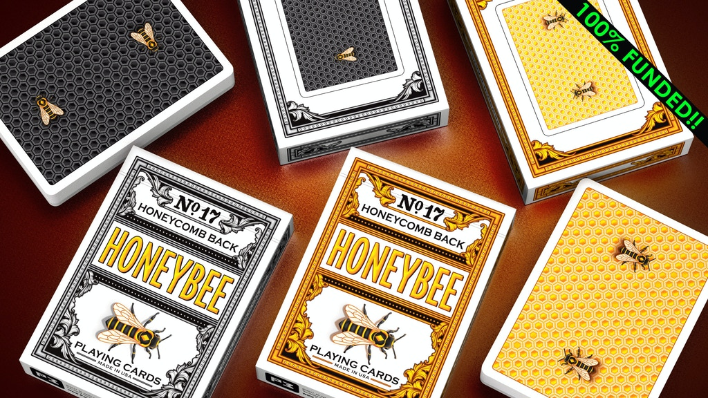 Honeybee V2 Playing Cards by Penguin Magic project video thumbnail