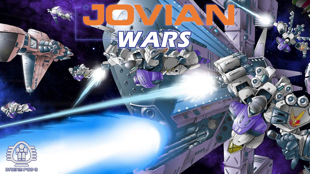 Jovian Wars - Resin Spaceship Miniatures project video thumbnail