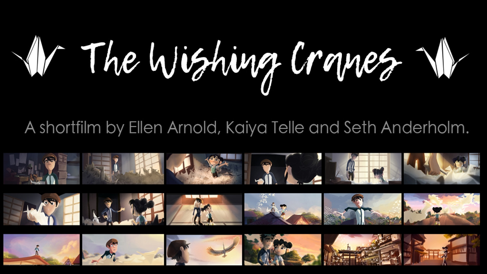If you fold a thousand paper cranes, you get a wish. Two orphaned siblings rediscover the value of spending time with your loved ones.