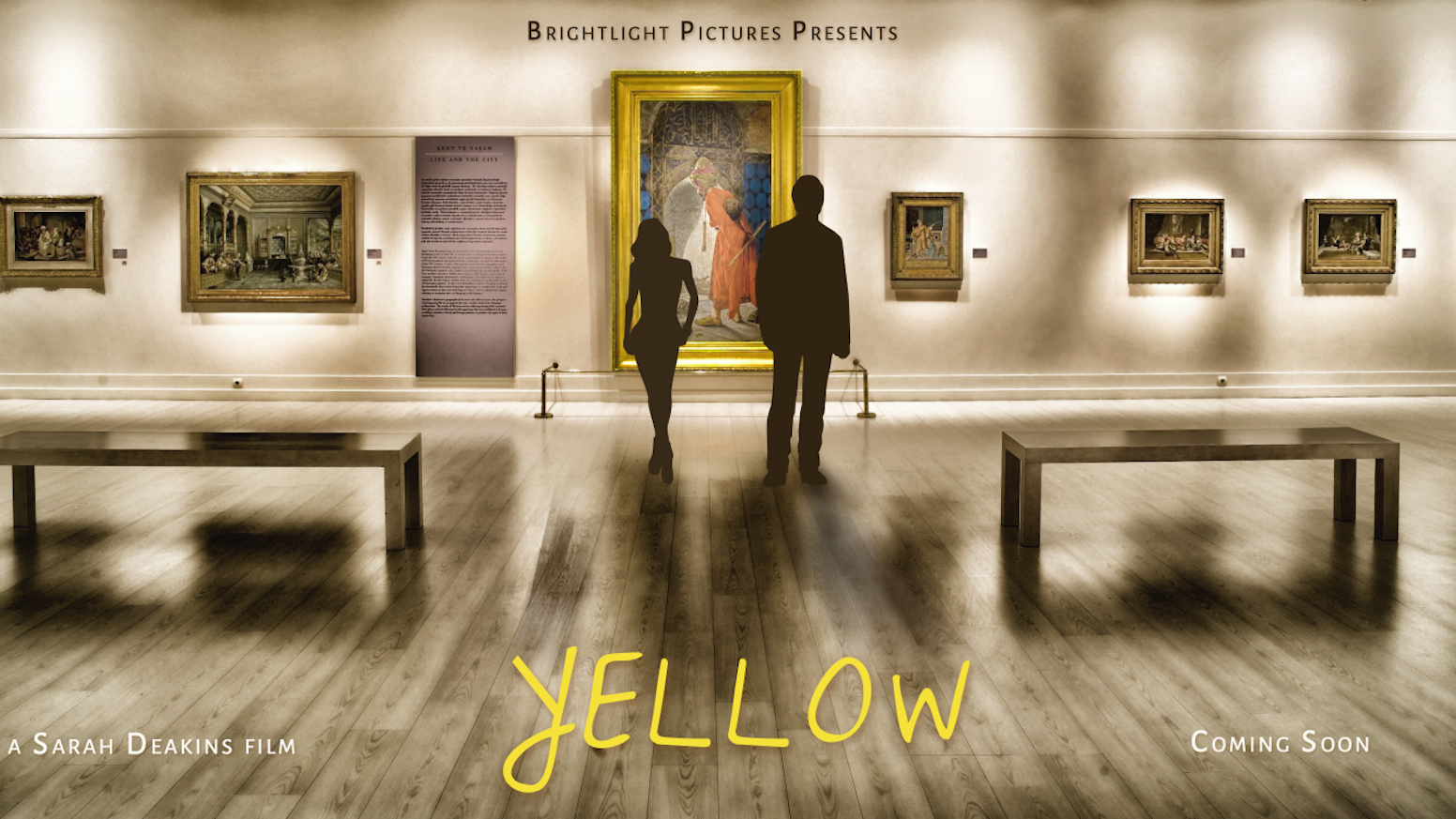 YELLOW follows 10 characters on a seemingly ordinary afternoon in an art gallery, as each experiences a crossroads in their lives.