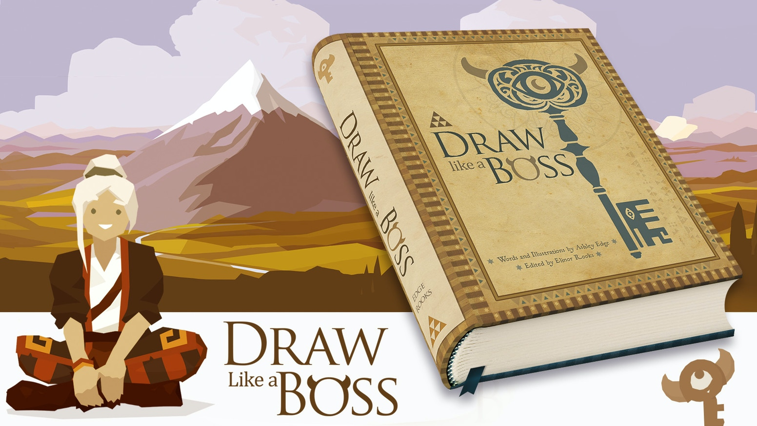Gamified method for learning to draw. Narrative driven, highly visual book that is guaranteed to teach and inspire you.