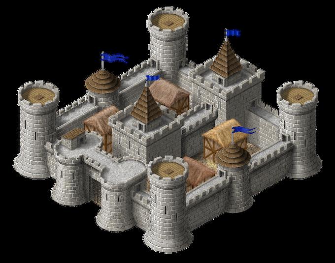 The castle artwork